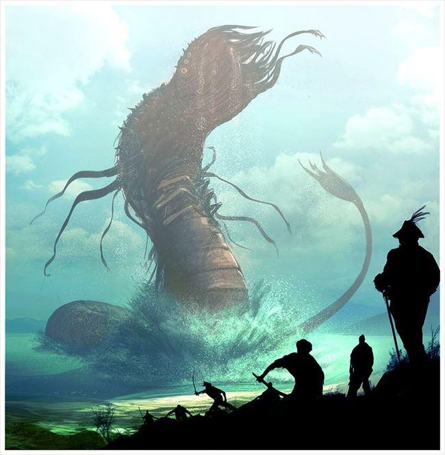 化け物怪物 85