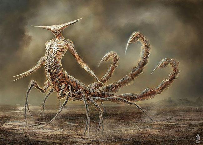 化け物怪物 88