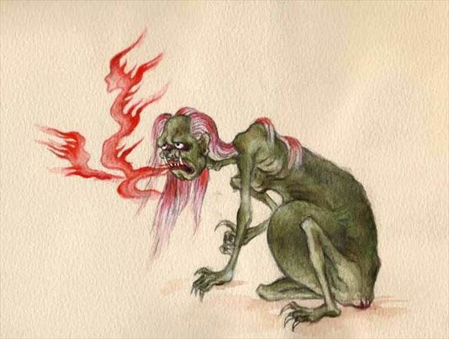 化け物怪物 9
