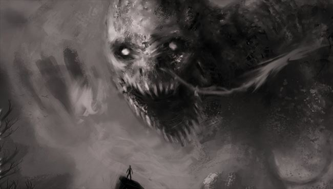 化け物怪物 91