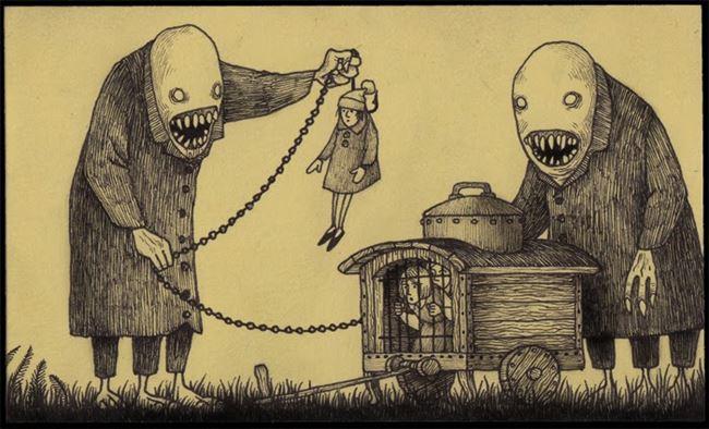 化け物怪物 92