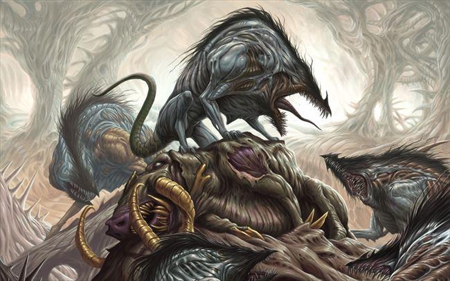 化け物怪物 96