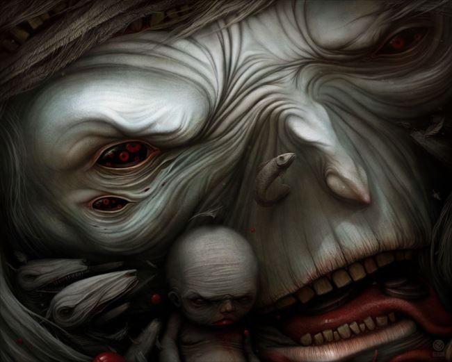 怖い絵 19