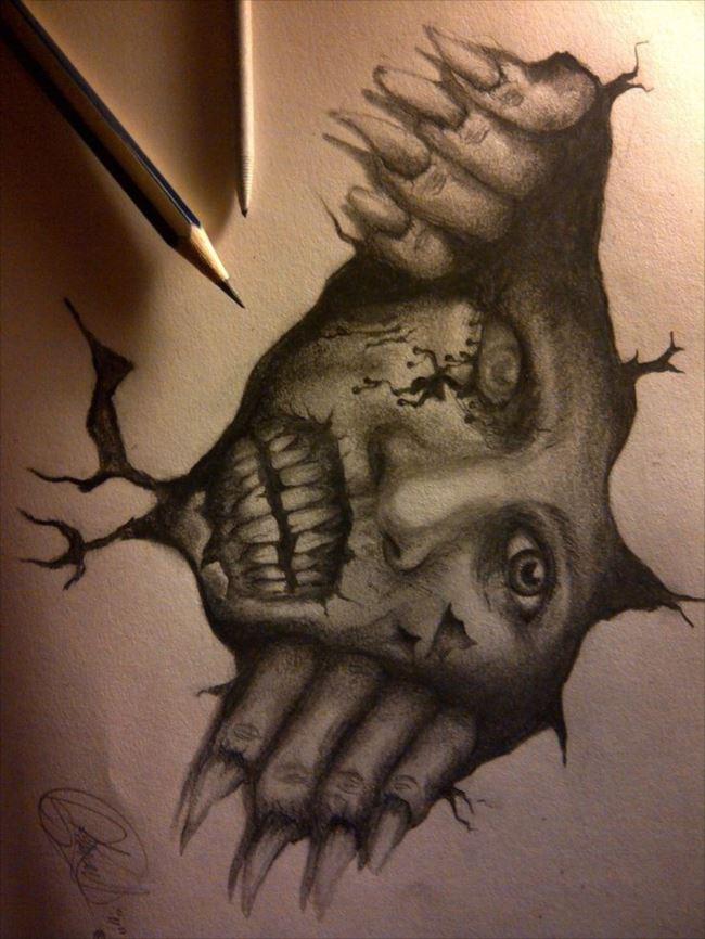 怖い絵 34