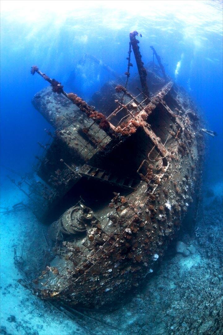 難破船画像 2