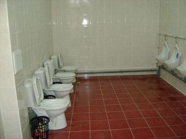 変わったトイレ 2