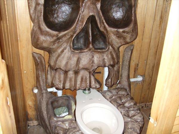 変わったトイレ 28