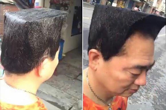 変わった髪型 49