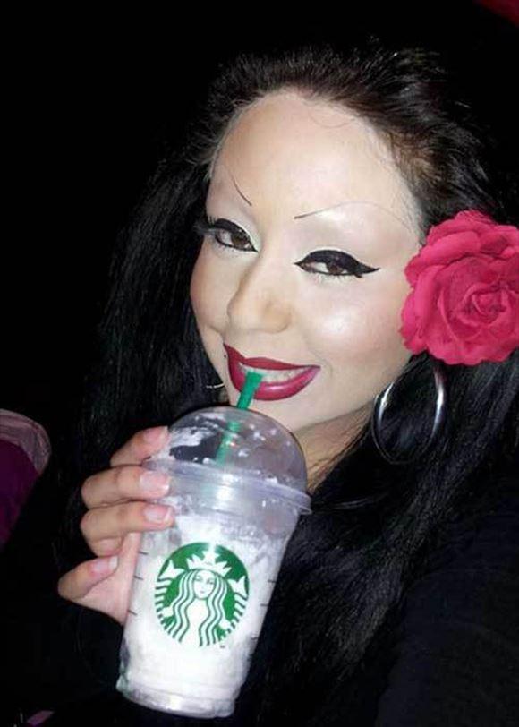 化粧失敗画像 3