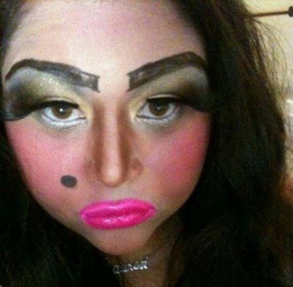 化粧失敗画像 7