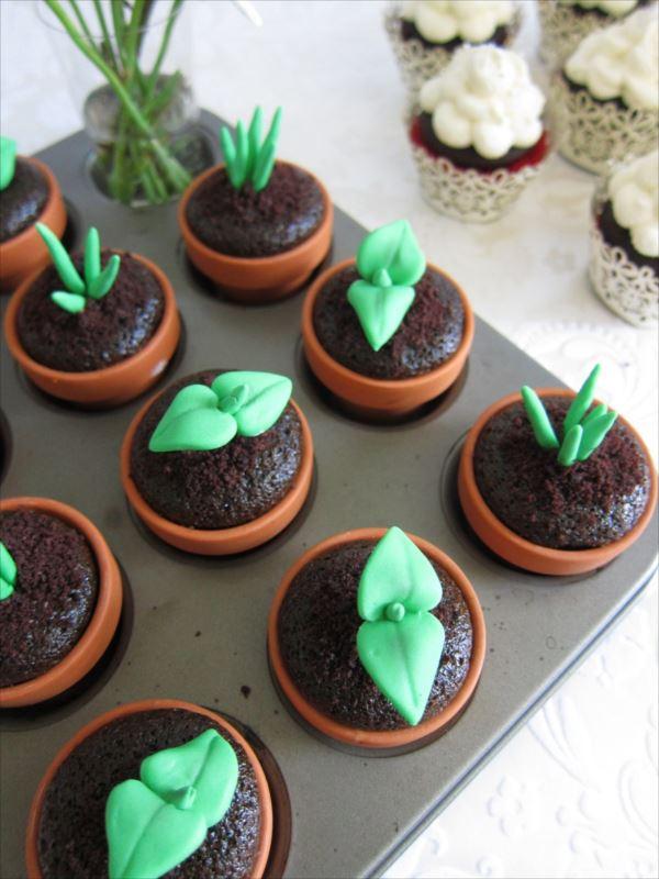 アイディア豊かなカップケーキ 10