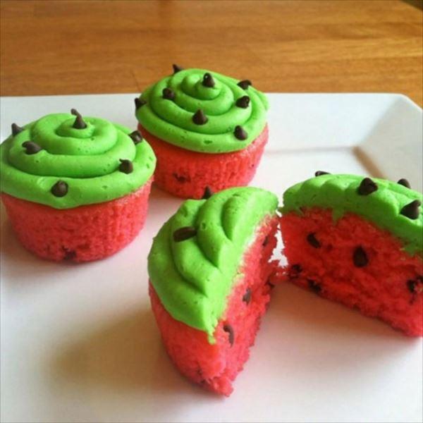 アイディア豊かなカップケーキ 12