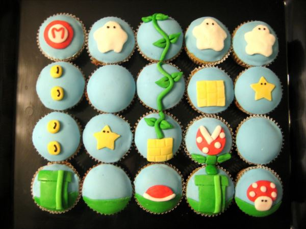 アイディア豊かなカップケーキ 21