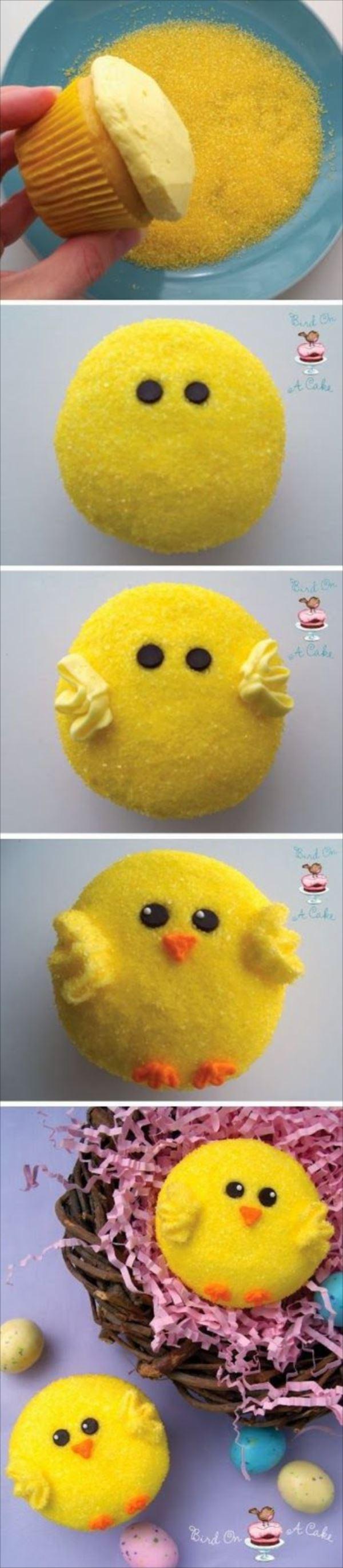 アイディア豊かなカップケーキ 46