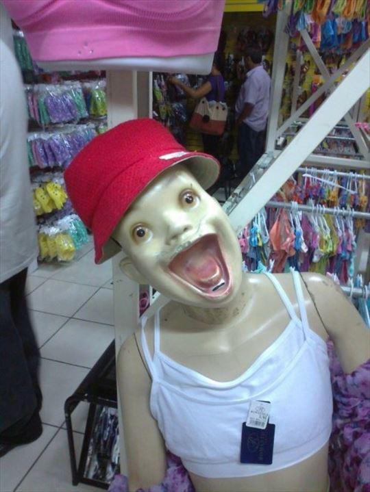 怖いマネキン 4